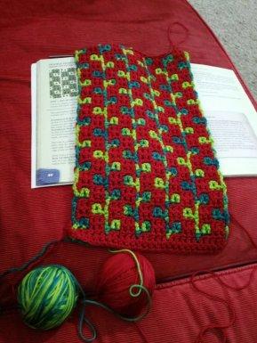 crochet rosebuds